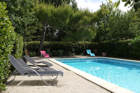 maison+grande piscine-t gd jardin - Mazan