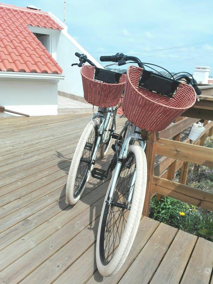 Ride a bike...