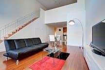 Charming Two Floor Loft