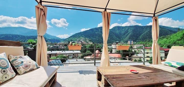 "borjomi inn ""Triple Room with Balcony"""