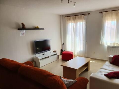 Espacioso apartamento de dos habitaciones