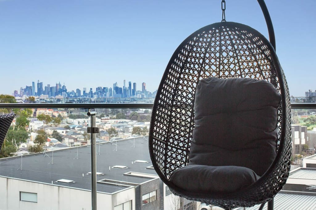 Relax in the Egg Chair