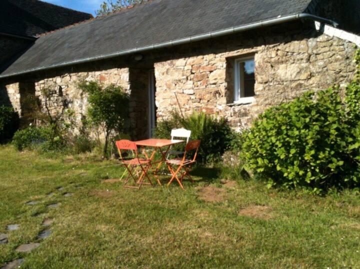 Cottage avec piscine chauffée