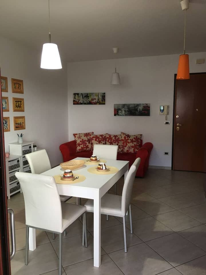 Lovely flat close to the beach and city center