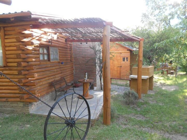 Cabaña cálida de  madera Merlo, San Luis