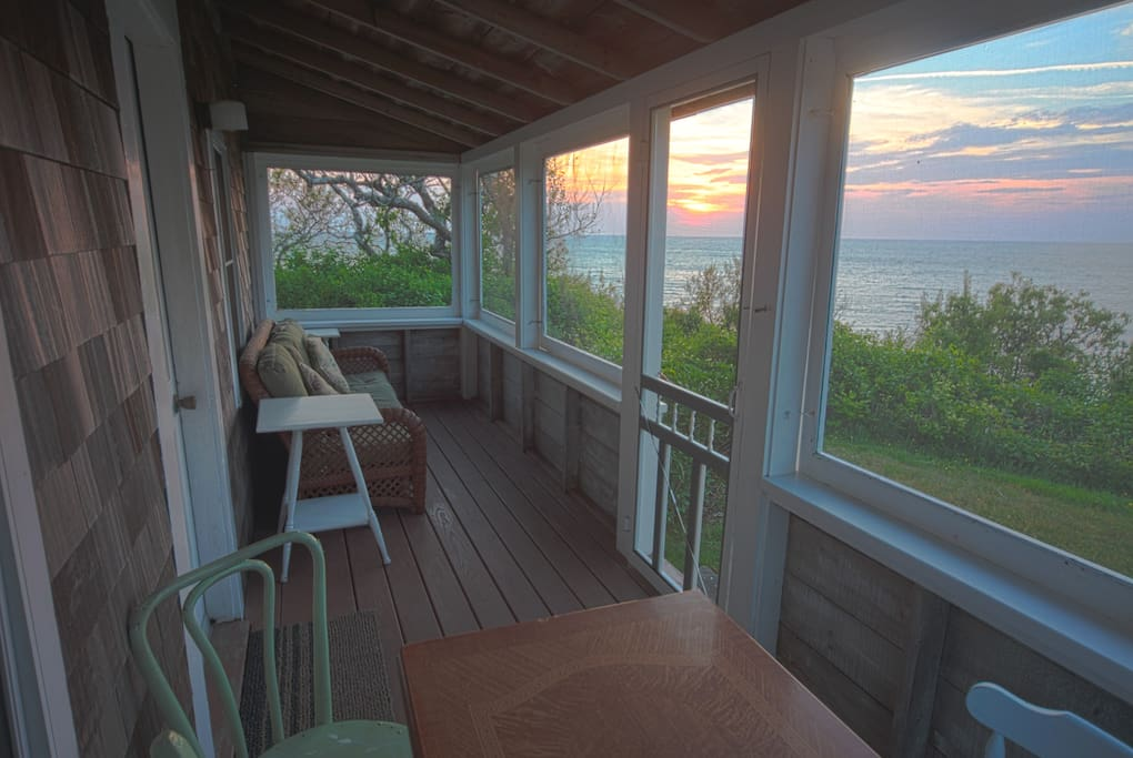 Sunset views from your porch