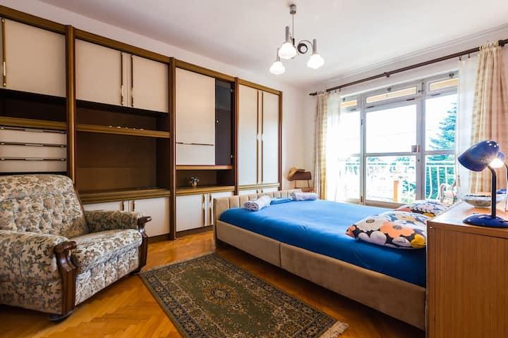 "Rooms Marija / Room ""Blue"" (2+1) +balcony"
