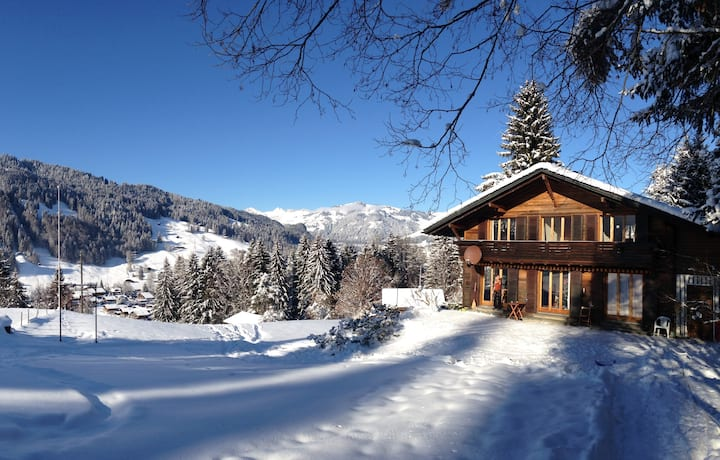 Chalet in Gstaad *Top Location*, 8 beds