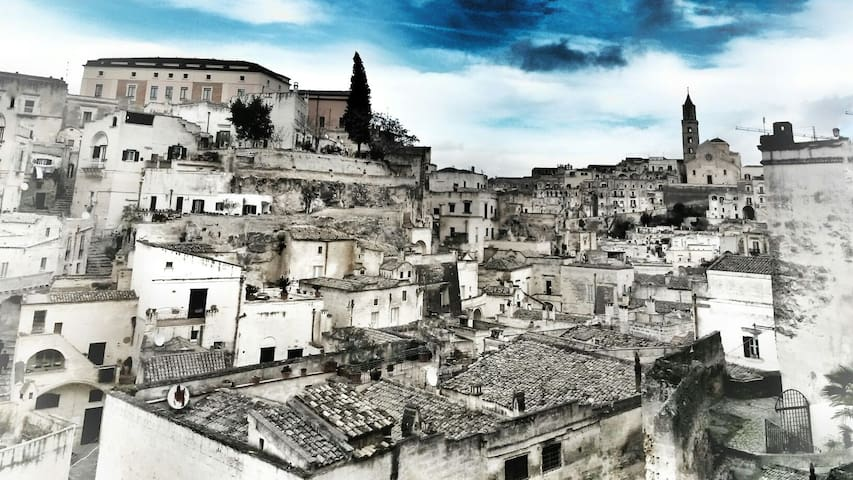 Matera City Center Room 4 - Private Ensuite - Matera - Leilighet
