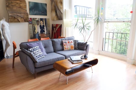 Artist's clean & spacious home with stunning views - Londen