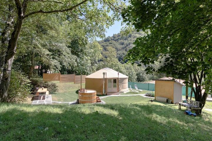 Eco Yurta Lugano - Valcolla