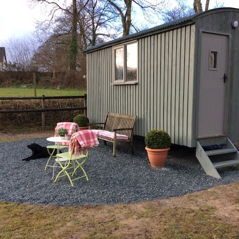 Hannah, Shepherds Hut. Inspired by Hannah Huxwell. - Lewdown - Hut