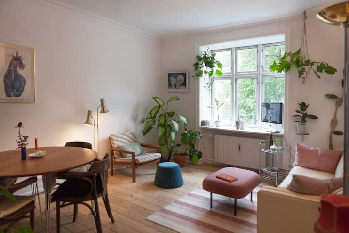 Charming home in downtown Nørrebro with parking