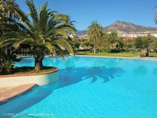 Lovely apartm with see views directly on the beach - Benalmádena - Pis