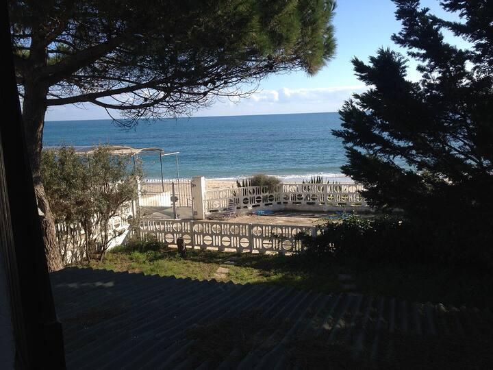 Villa a mt. 5 dalla spiaggia