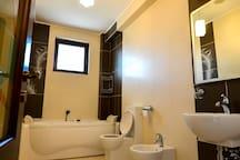 Bathroom with jacuzzi-third bedroom