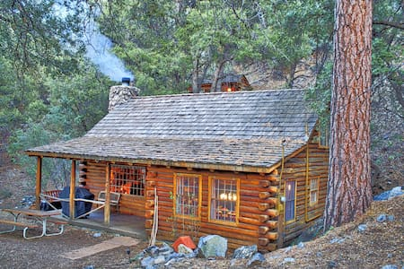 Eat Bacon & Relax - Authentic Log Cabin Experience - Pine Mountain Club