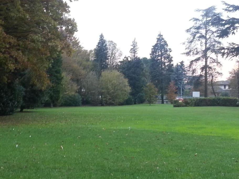 Abitazione - il parco