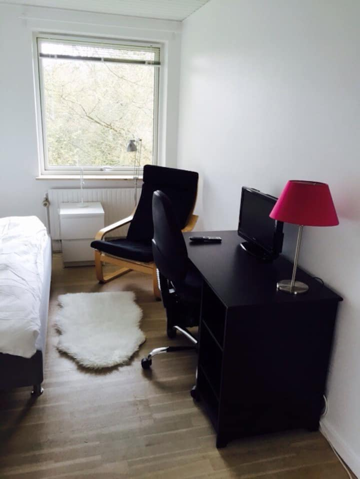 Single room 20 km. north of Copenha