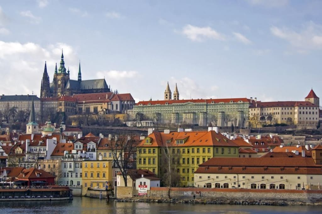 Prague castle - 1 minute walk from the apartment - we are situated right next to the castle :)