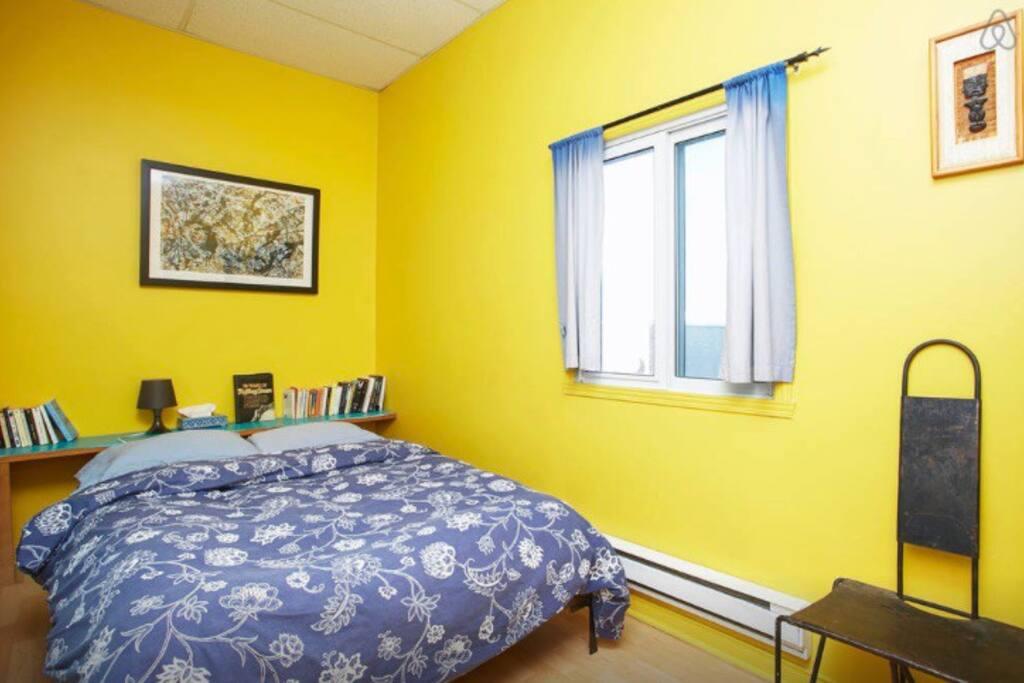 Chambre au calme - Adjacente aux lits superposés