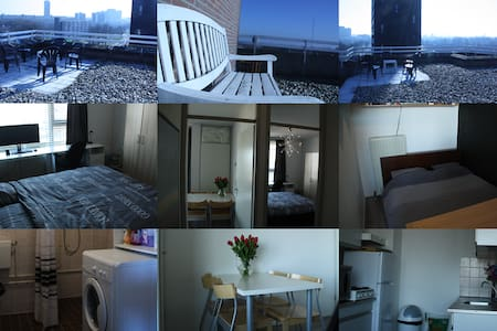 Penthouse near airport and center - Eindhoven
