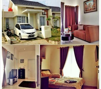 Dream home near railway of Cilebut - Bogor