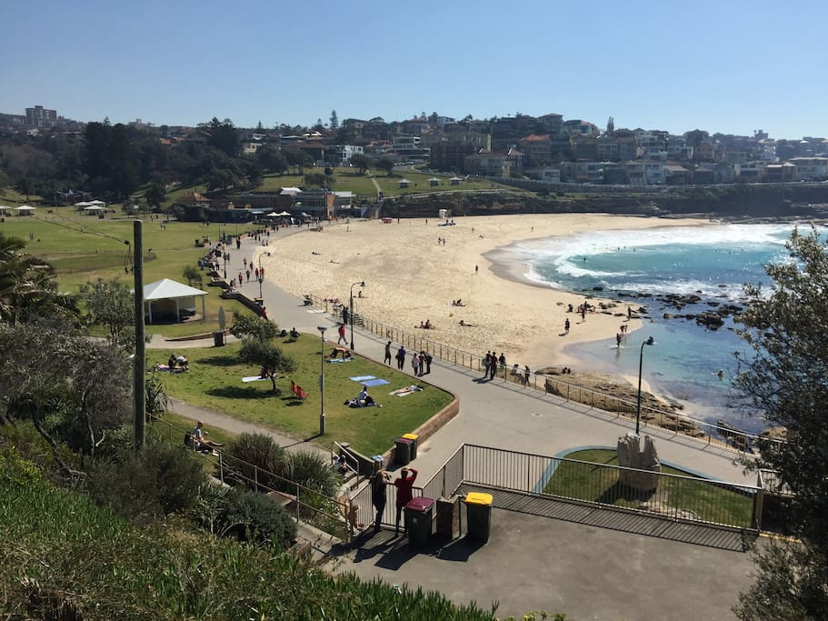 South end of Bronte Beach