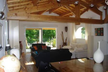 superbe villa typique avec piscine - Breuillet - Villa