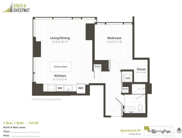 Luxury Gold Coast 1 Bedroom Apt (33rd Floor)