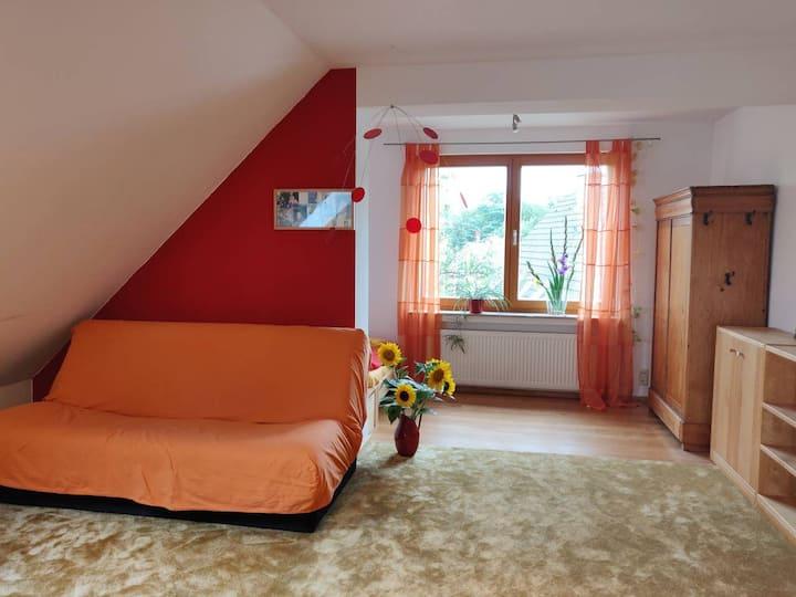 Geräumiges Zimmer bis zu 4 Personen 20 min in Köln