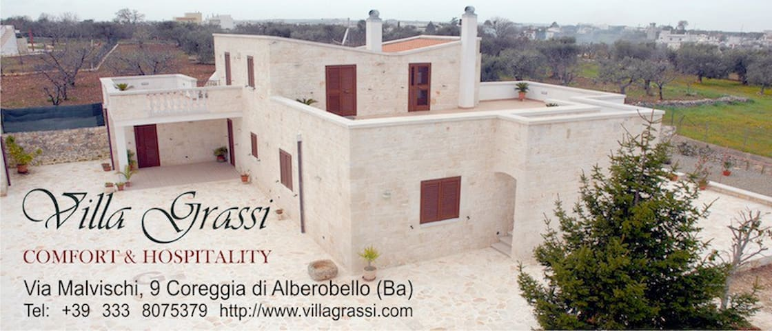 bed and breakfast villa grassi  - Alberobello - Pis