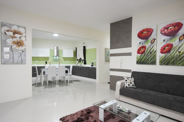 Large Modern Seaside Apartment - Birżebbuġa - Appartement