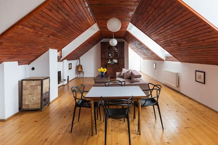ATTIC with open terrace @ city center