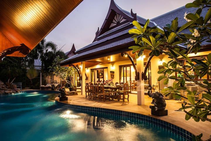 Villa Saifon 1 - Pool villa - 3 Bedrooms 6 Adults