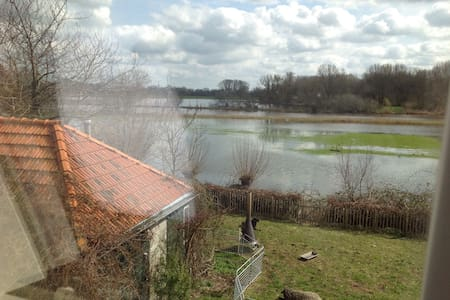 Large room with beautiful view - Zwolle