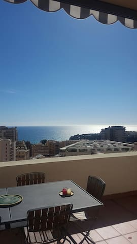 Lovely 2 br flat in front of Monaco