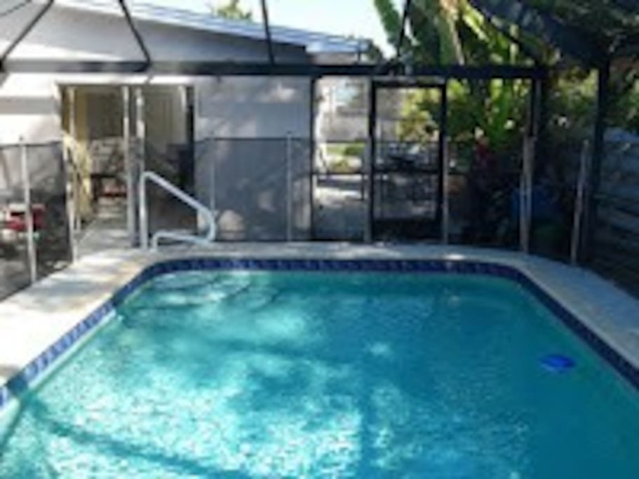 Fully remodel house, Heated pool with lanai, extra children fence to the pool