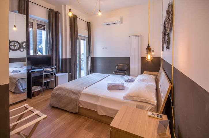 Qal'at Apart Hotel camera doppia bagno in camera