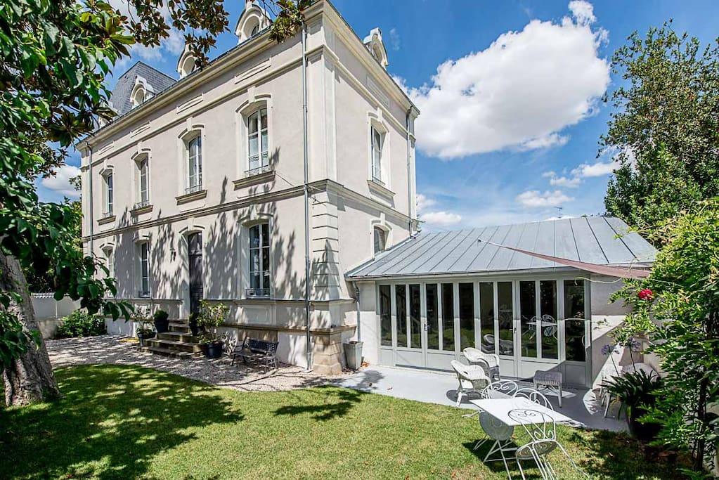 Castel magnolia 4 chambres d 39 h tes chambres d 39 h tes for Chambre d hote valle de la loire