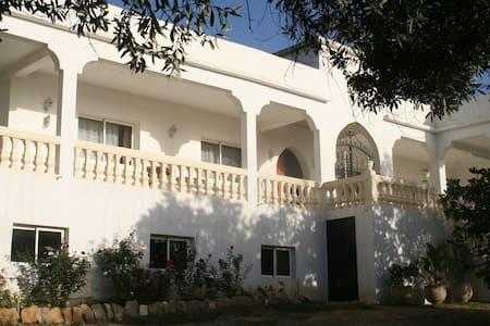 Ferme d'hôtes  Domaine des Sloughis - Sidi Ali Ben Hamdouch - Gjestehus