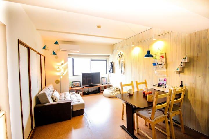 Best Tokyo Local Life near Asakusa 東京 浅草 Airbnb - Adachi-ku - Appartement
