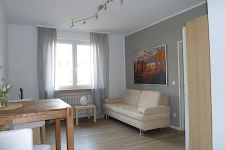 Apartm.: modern, ruhig, zentral,Stadion,Messe,Uni