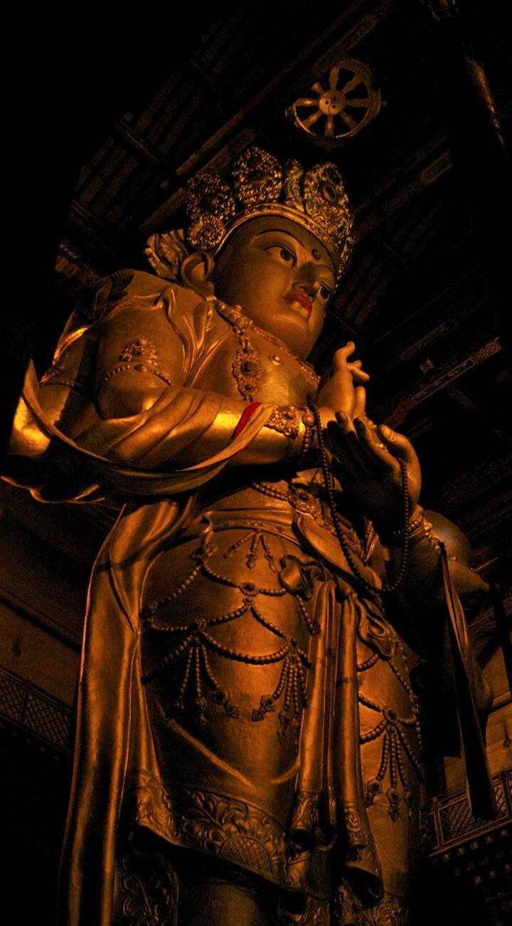 Avalokitesvara, a Buddhist bodhisattva