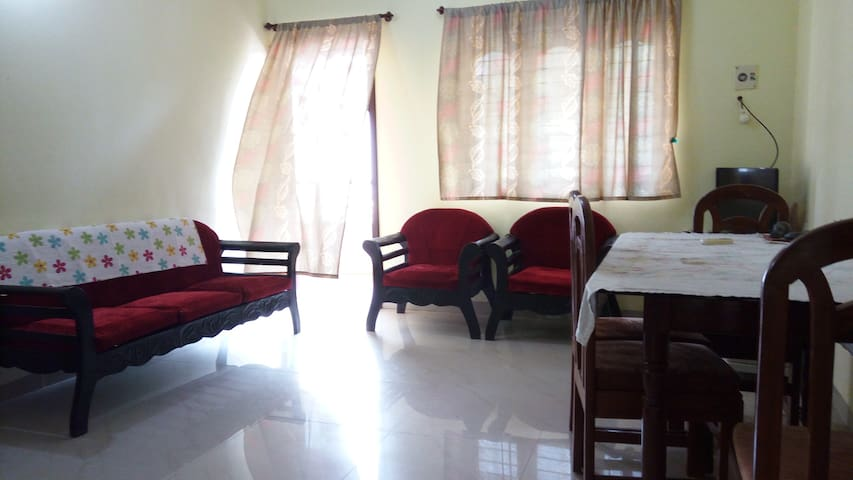 Cozy AC 2BHK Apartment@ Colva GOA - Colva