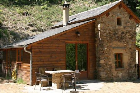 Romantisch boshuisje Foncombe in de Aveyron - Haus