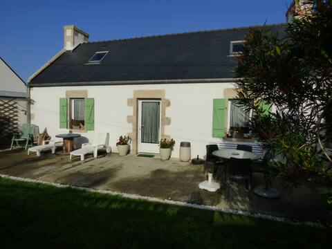 Maison traditionnelle bretonne (penn-ty)