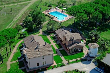 Tra Umbria e Toscana Apt 2 pax - Ceraso - Wohnung