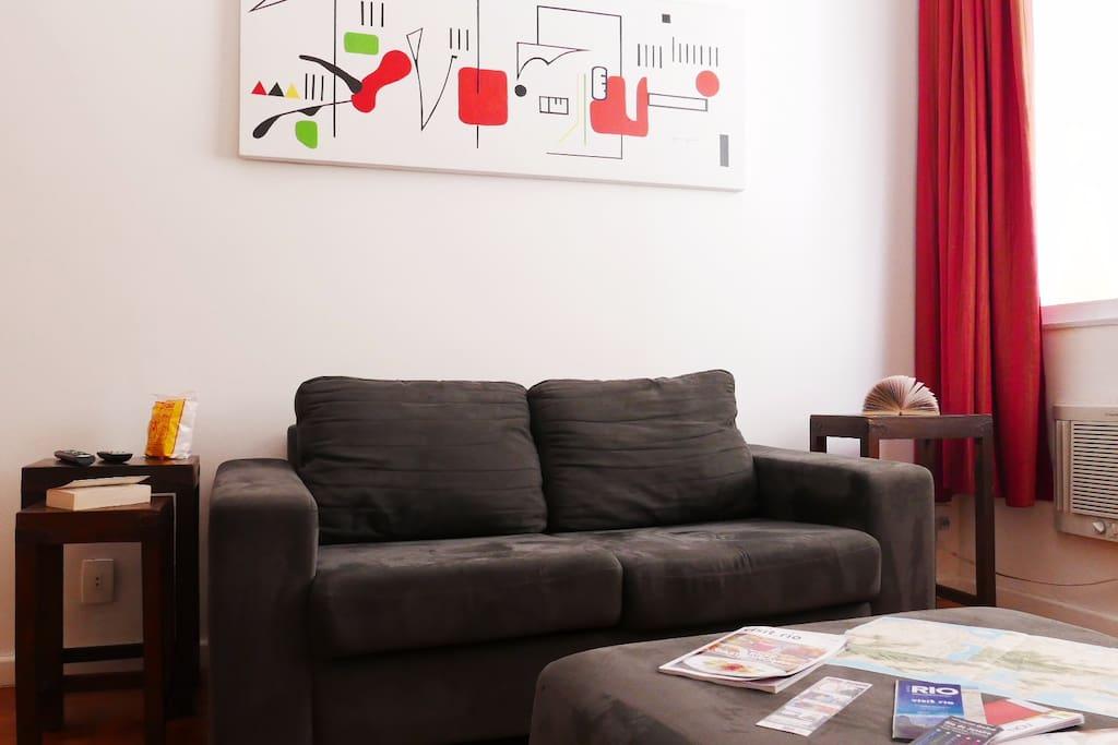 Sofá confortável / Comfortable sofa