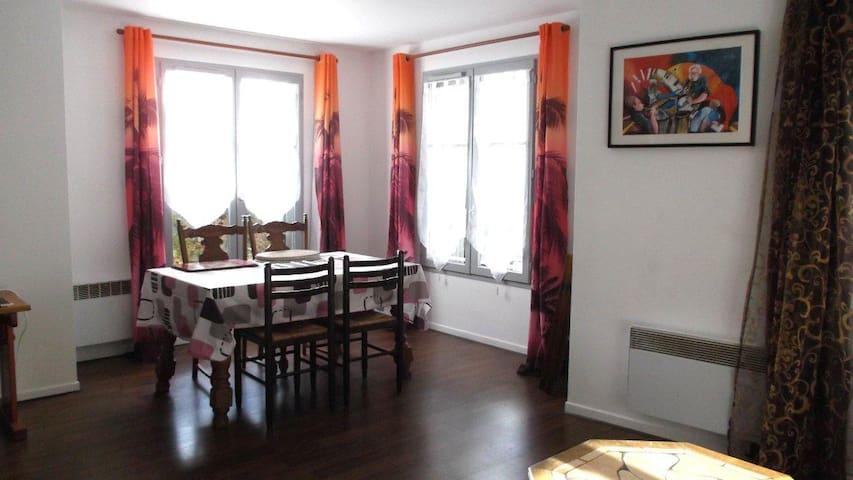 Disneyland idéal, appart 3 p, calme - Bailly-Romainvilliers - Apartmen